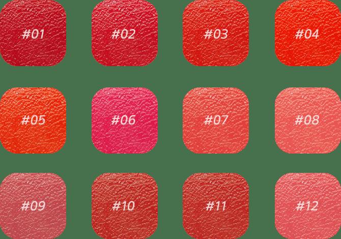 Bảng màu creamy-tint-squeeze lip