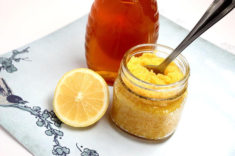 Hỗn hợp chanh, đường và mật ong