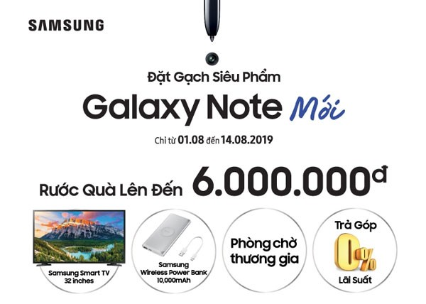 Galaxy note Nguyen Kim