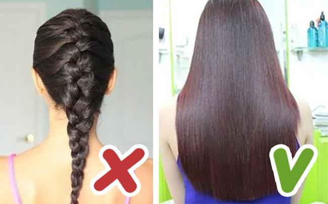 Tránh buộc tóc quá chặt